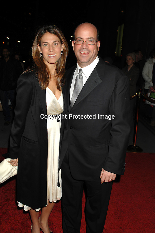 Jeff Zucker and wife Caryn..arriving at the 3rd Annual Unicef Snowflake Ball at Cipriani 42nd Street on November 28, 2006...Robin Platzer, Twin Images