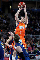 Valencia Basket Club's Pau Ribas during Spanish Basketball King's Cup Final match.February 07,2013. (ALTERPHOTOS/Acero)