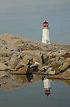 Peggy's Cove Lighthouse Nova Scotia Canada