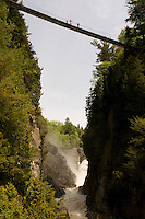 Canyon Sainte Anne. Quebec City and surrounding areas, Canada.