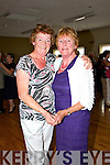 Pictured at the Tea Dance in aid of Fr. Tim Galvin's missions in South Sudan on Sunday which took place in Fr. Casey's GAA Clubhouse were L-R Margaret McCarthy and Mary Morrissey Abbeyfeale.