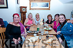 Shani Lonergan celebrated her birthday with friends and family at Bella Bia (l-r Tina Lonergan, Angela Walsh, Shani Lonergan, Moira O'Sullivan, Mary O'Sullivan, Greta McCannon and Vivienne Lonergan) at Bella Bia on Saturday