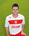 Greg Tansey of Stevenage. Stevenage FC photoshoot -  Lamex Stadium, Stevenage . - 16th August, 2012. © Kevin Coleman 2012
