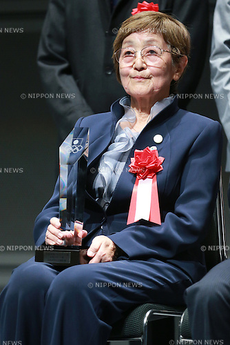 Ai Iida,<br /> JUNE 12, 2015 - News : <br /> JOC Sports Awards ceremony <br /> at Tokyo International Forum, Tokyo, Japan. <br /> (Photo by Shingo Ito/AFLO SPORT)