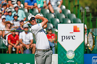 Nicolas Colsaerts (BEL) during the final round of the Nedbank Golf Challenge hosted by Gary Player,  Gary Player country Club, Sun City, Rustenburg, South Africa. 11/11/2018 <br /> Picture: Golffile | Tyrone Winfield<br /> <br /> <br /> All photo usage must carry mandatory copyright credit (&copy; Golffile | Tyrone Winfield)