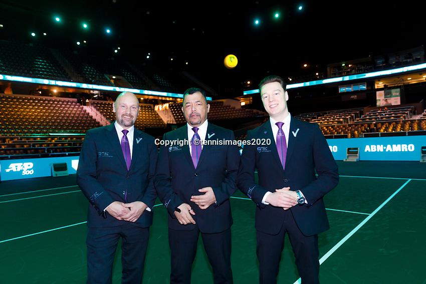 Rotterdam, The Netherlands, 14 Februari 2020, ABNAMRO World Tennis Tournament, Ahoy,  <br /> Photo: www.tennisimages.com