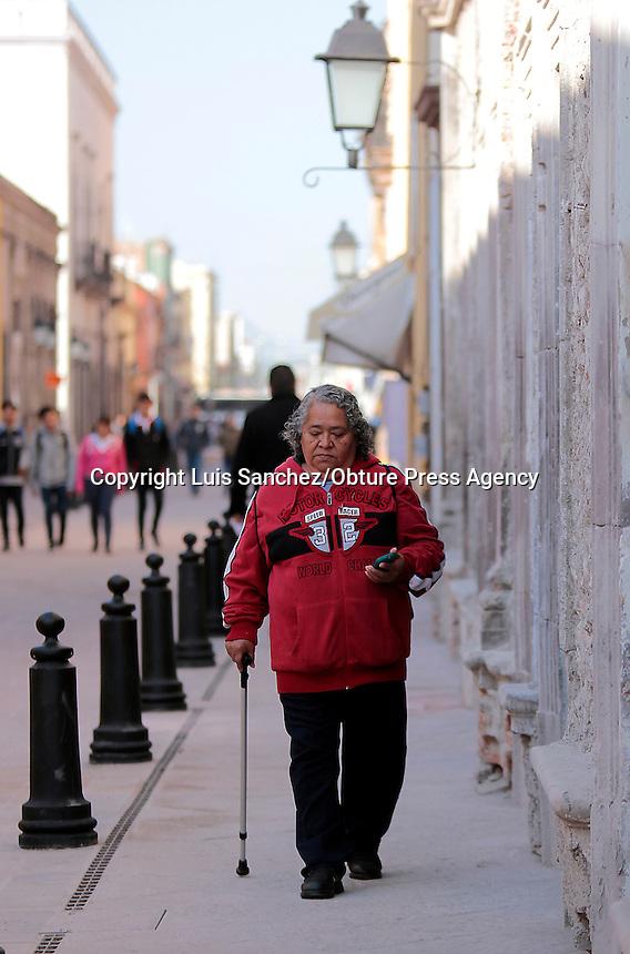 Querétaro, Qro. 30 enero 2017.- Esta mañana quedó rehabilitada la calle Francisco I. Madero de la Delegación Centro Histórico por parte del alcalde capitalino Marcos Aguilar.