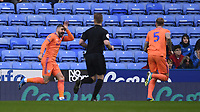 25th January 2020; Madejski Stadium, Reading, Berkshire, England; English FA Cup Football, Reading versus Cardiff City; Callum Paterson of Cardiff City celebrates scoring in the 5th minute 0-1