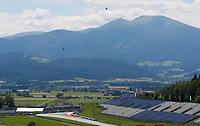 4th July 2020; Red Bull Ring, Spielberg Austria; F1 Grand Prix of Austria, qualifying sessions;  A landscape view of the course