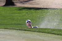 Adam Hadwin (CAN) chips from a bunker at the 6th green during Saturday's Round 3 of the Waste Management Phoenix Open 2018 held on the TPC Scottsdale Stadium Course, Scottsdale, Arizona, USA. 3rd February 2018.<br /> Picture: Eoin Clarke | Golffile<br /> <br /> <br /> All photos usage must carry mandatory copyright credit (&copy; Golffile | Eoin Clarke)