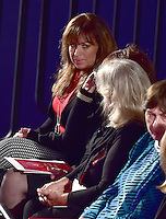 Paula Jones appears prior to former United States Secretary of State Hillary Clinton, the Democratic Party nominee for President of the US and businessman Donald J. Trump, the Republican Party candidate for President of the US, appearing in the second of three presidential general election debates at Washington University in St. Louis, Missouri on Sunday, October 8, 2016.<br />