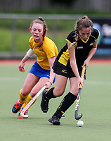 Otago v Taranaki. Action during the U-15 Premier Girls Hockey Nationals. North Harbour Hockey, Auckland, New Zealand. Monday 4 October 2017. Photo:Simon Watts / www.bwmedia.co.nz