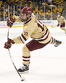 Chris Kreider (BC - 19) - The Boston College Eagles defeated the Northeastern University Huskies 7-1 in the opening round of the 2012 Beanpot on Monday, February 6, 2012, at TD Garden in Boston, Massachusetts.