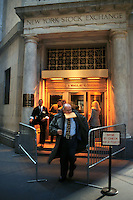 Borsa di New York.New York Stock Exchange.