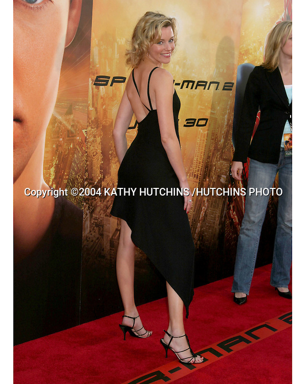 "©2004 KATHY HUTCHINS /HUTCHINS PHOTO.""SPIDERMAN 2"" PREMIERE.WESTWOOD, CA.JUNE 22, 2004..ELIZABETH BANKS"