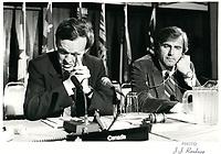 Jean Chretien en juillet 1980 (date exacte inconnue) Possiblement lors d'une ronde de négociations constitutionnelles qui va durer tout l'été 1980<br /> <br /> <br /> <br /> PHOTO :  Agence Quebec Presse
