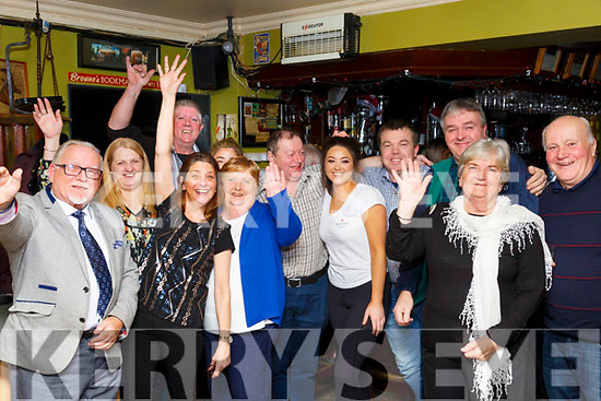 New Year Celebrations: Celebrating the new year at The Saddle Bar, Listowel on New Year's Eve.