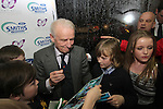 Giovanni Trapattoni at the Launch of the Monster Car Draw in aid of the Gary Kelly Centre at Smiths Garage....Photo NEWSFILE/Jenny Matthews.
