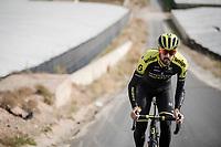 Sam Bewley (NZL/Mitchelton-Scott) during the Mitchelton-Scott training camp in Almeria, Spain<br /> <br /> february 2019<br /> <br /> ©kramon
