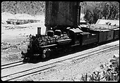 D&amp;RGW #476 K-28 at Embudo tank.<br /> D&amp;RGW  Embudo, NM