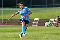 Piscataway, NJ - Saturday June 11, 2016: Raquel Rodriguez during a regular season National Women's Soccer League (NWSL) match between Sky Blue FC and FC Kansas City at Yurcak Field.