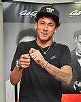 Neymar Jr., GaGa Milano, May 30, 2017, Tokyo, Japan : FC Barcelona footballer Neymar Jr. smiles at the GaGa Milano Harajuku store in Tokyo, Japan on May 30, 2017. (Photo by AFLO)