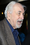 "Louis Zorich attends the Broadway Opening Night Performance of ""Lady Day at Emerson's Bar & Grill""  at Circle in the Square Theatre on April 13, 2014 in New York City."