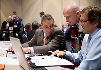 Paul Riley, Randy Waldrum, Tony DiCicco. The NWSL draft was held at the Pennsylvania Convention Center in Philadelphia, PA, on January 17, 2014.