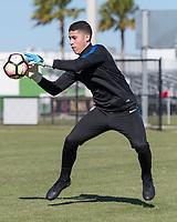 Lakewood Ranch, FL - Sunday Jan. 07, 2018: Johan Penaranda during an U-19 USMNT training session at Premier Sports Campus in Lakewood Ranch, FL.