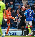 05.05.2019 Rangers v Hibs: Allan McGregor describes his sending off