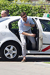 01.06.2012. Arrival of the players in the Spanish football team squad for the European Championship in Poland and Ukraine to the Ciudad del Futbol of Las Rozas, Madrid. In the image Xabier Alonso  (Alterphotos/Marta Gonzalez)