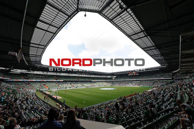 17.08.2013, Weserstadion, Bremen, GER, 1.FBL, Werder Bremen vs FC Augsburg, im Bild Weserstadion<br /> <br /> Foto &copy; nph / Frisch