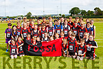 Fossa runners at the Kerry Community games finals in Castleisland on  Saturday