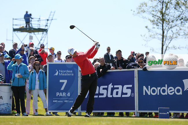 Alex Noren (SWE) carded a 68 to be in contention for the weekend during Round Two of the 2015 Nordea Masters at the PGA Sweden National, Bara, Malmo, Sweden. 05/06/2015. Picture David Lloyd | www.golffile.ie