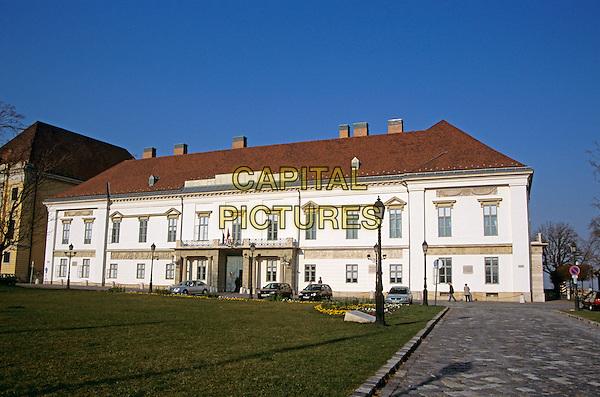 President?s residence, Sandor Palota (Palace), Castle Hill District, Budapest, Hungary