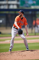 Houston Astros pitcher Alex Winkelman (80) during a Minor League Spring Training Intrasquad game on March 28, 2018 at FITTEAM Ballpark of the Palm Beaches in West Palm Beach, Florida.  (Mike Janes/Four Seam Images)