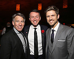 Stephen Schwartz, Andrew Lippa and Aaron Tveit attends the Dramatists Guild Fund Gala 'Great Writers Thank Their Lucky Stars : The Presidential Edition' at Gotham Hall on November 7, 2016 in New York City.