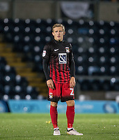 George Thomas of Coventry City during the The Checkatrade Trophy Southern Group D match between Wycombe Wanderers and Coventry City at Adams Park, High Wycombe, England on 9 November 2016. Photo by Andy Rowland.