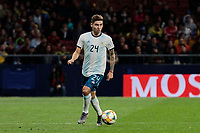 Argentina's Gonzalo montiel during International Adidas Cup match between Argentina and Venezuela at Wanda Metropolitano Stadium in Madrid, Spain. March 22, 2019. (ALTERPHOTOS/A. Perez Meca)<br /> Madrid 22-03-2019 <br /> Football Friendly Match <br /> Argentina Vs Venezuela <br /> foto Alterphotos/Insidefoto <br /> ITALY ONLY