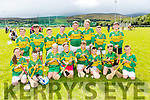Lixnaw under 10's at the Tralee Parnells Hurling and Camogie blitz on Saturday at the John Mitchels complex