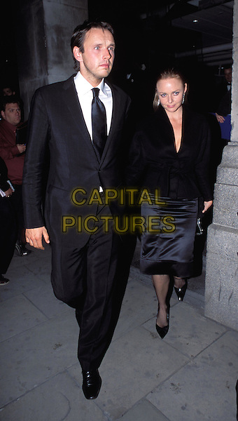 STELLA MCCARTNEY & HUSBAND.Lycra British Style Awards 2003, Old Billingsgate Market.full length, full-length.www.capitalpictures.com.sales@capitalpictures.com.© Capital Pictures.