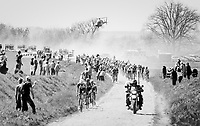 dust storm approaching<br /> <br /> 115th Paris-Roubaix 2017 (1.UWT)<br /> One Day Race: Compi&egrave;gne &rsaquo; Roubaix (257km)