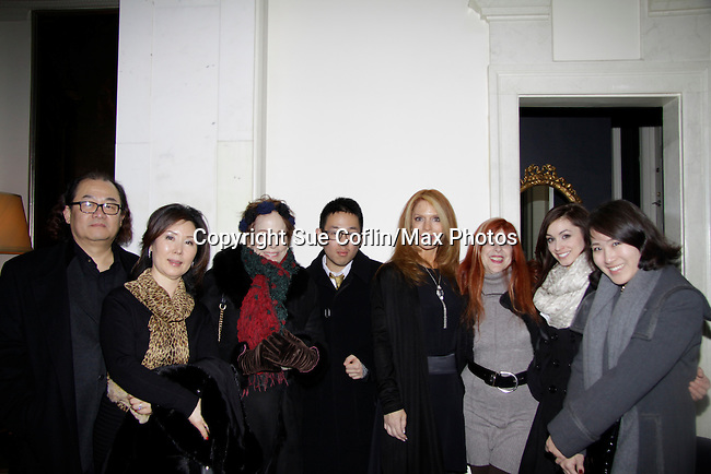 Days of Our Lives Louise Sorel poses with Jane Elissa and friends and iJane Monheit (jazz singer) performing at a night of entertainment by Frank Wildhorn (Jeckyll and Hyde, Bonnie & Clyde) and friends at the Cafe Carlyle, New York City. (Photo by Sue Coflin/Max Photos)