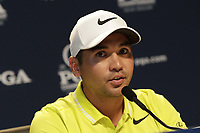 Jason Day (AUS) press conference during Tuesday's Practice Day of the 2017 PGA Championship held at Quail Hollow Golf Club, Charlotte, North Carolina, USA. 9th August 2017.<br /> Picture: Eoin Clarke | Golffile<br /> <br /> <br /> All photos usage must carry mandatory copyright credit (&copy; Golffile | Eoin Clarke)