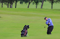 Joe Lyons (Galway) on the 18th during the Final of the AIG Barton Shield in the AIG Cups & Shields Connacht Finals 2019 in Westport Golf Club, Westport, Co. Mayo on Saturday 10th August 2019.<br /> <br /> Picture:  Thos Caffrey / www.golffile.ie<br /> <br /> All photos usage must carry mandatory copyright credit (© Golffile | Thos Caffrey)