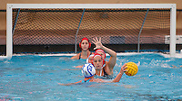 Stanford - February 1, 2015: Maggie Steffens during the Stanford vs UCLA title match of the 2015 Stanford Invitational at Avery Aquatic Center on Sunday afternoon.<br /> <br /> The Cardinal defeated the Bruins 9-5.