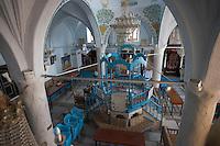 Asie/Israël/Galilée/Safed: intérieur de la synagogue Abouhav