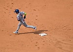 29 April 2017: New York Mets infielder Jose Reyes rounds the bases after hitting a solo home run in the 9th inning against the Washington Nationals at Nationals Park in Washington, DC. The Mets defeated the Nationals 5-3 to take the second game of their 3-game weekend series. Mandatory Credit: Ed Wolfstein Photo *** RAW (NEF) Image File Available ***