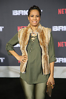 WESTWOOD, CA - DECEMBER 13: Daphne Wayans, at Premiere Of Netflix's 'Bright' at The Regency Village Theatre, In Hollywood, California on December 13, 2017. Credit: Faye Sadou/MediaPunch /NortePhoto.com NORTEPHOTOMEXICO