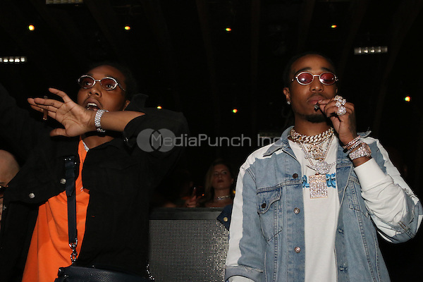 LOS ANGELES, CA - FEBRUARY 11: Migos at Royal Elite Vodka presents Migos Bad & Boujee Grammy Event  at 1Oak in Los Angeles, California on February 11, 2017. Credit: Walik Goshorn/MediaPunch